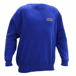 Толстовка синяя Daiwa Team Daiwa Sweatshirt Blue размер - XXL / SSBL-XXL