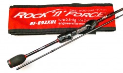 Спиннинг Hearty Rise Rock'n'Force RF-692XUL 206 cm 0,5-5 g