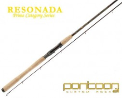 Спиннинг Pontoon21 RESONADA 213; 3.0-14.0; 5-12 Lb.;Ex.Fast;Fuji K-ALC RSS702MLXF